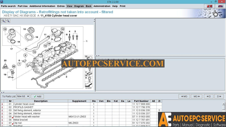 Bmwminirolls Royce Etk 042016 Spare Parts Catalog Full Instruction