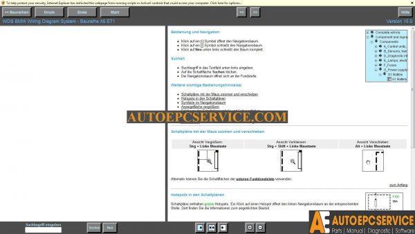 BMW WDS v15 and MINI WDS v7 Wiring Diagram System Wds Wiring Diagram on