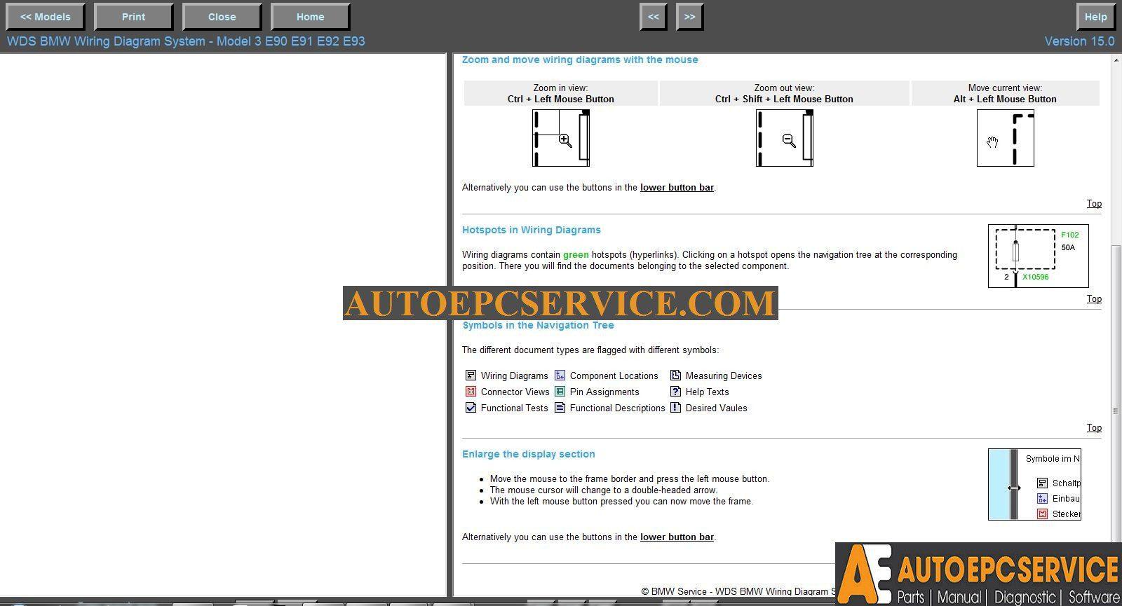 Strange Bmw Wds V15 And Mini Wds V7 Wiring Diagram System Auto Repair Wiring Database Redaterrageneticorg