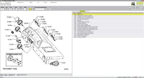Clark ForkLift Parts Pro Plus v485 [05 2019]