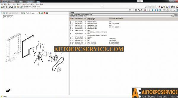 fendt 8370 8400 combine operators manual download