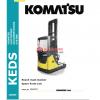 KOMATSU FB12-20RJ-2R SPARE PARTS LIST 1