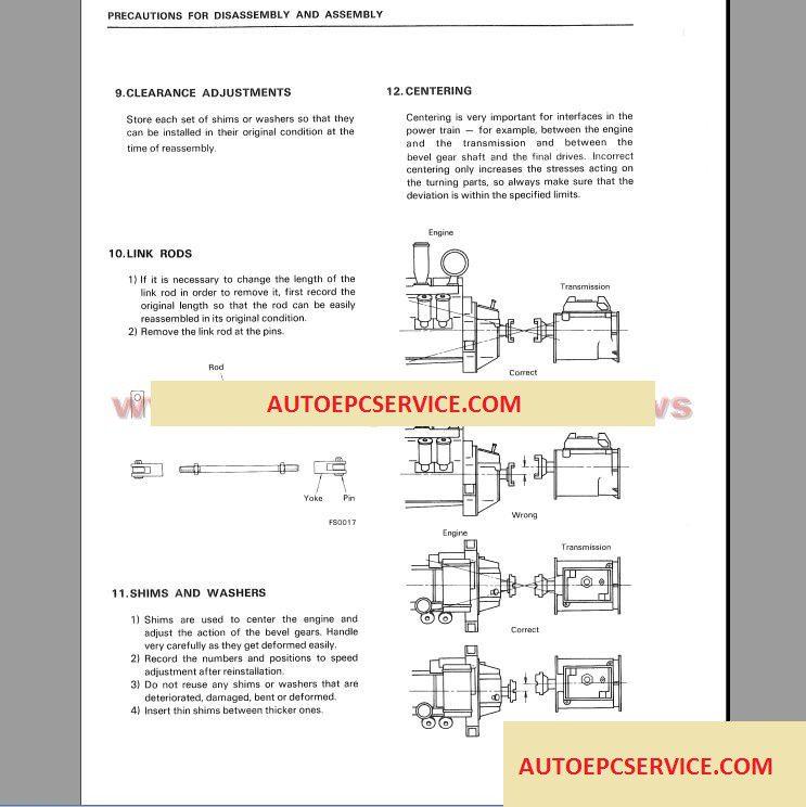 Komatsu Engine Generator Set – Auto Repair Software-Auto EPC
