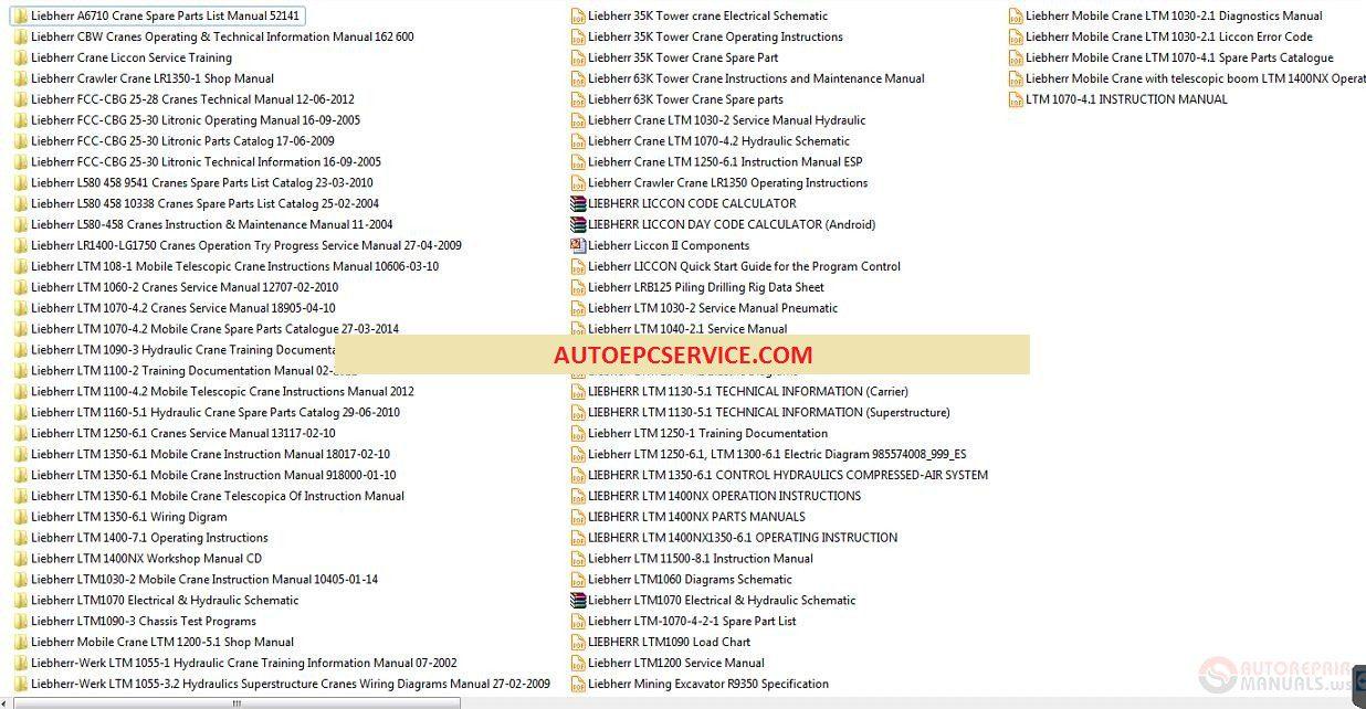 Liebherr Spare Parts Catalogue   Kayamotor co