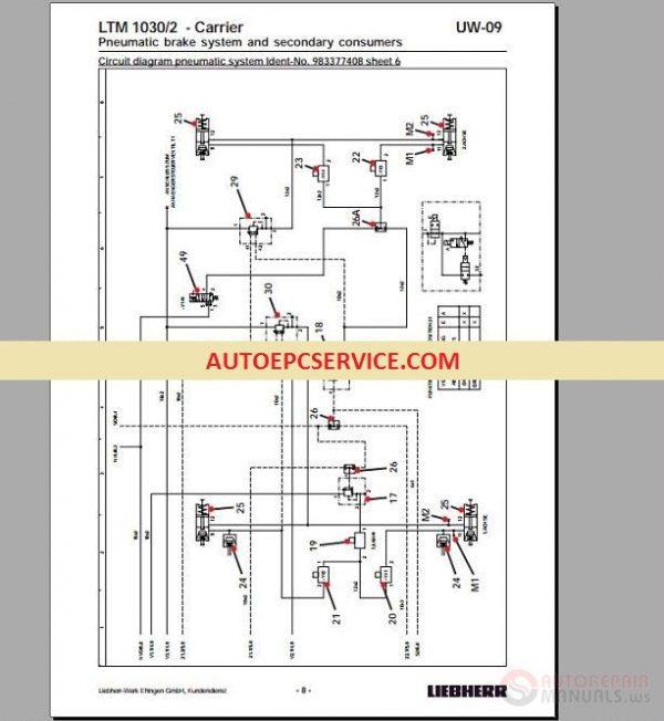 Liebherr Cranes Full Set Manual DVD