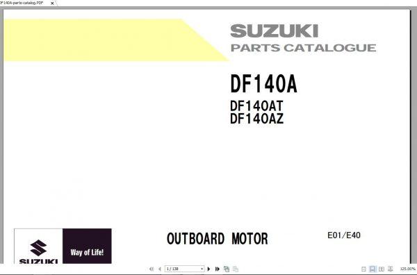 Suzuki Marine Service Manual