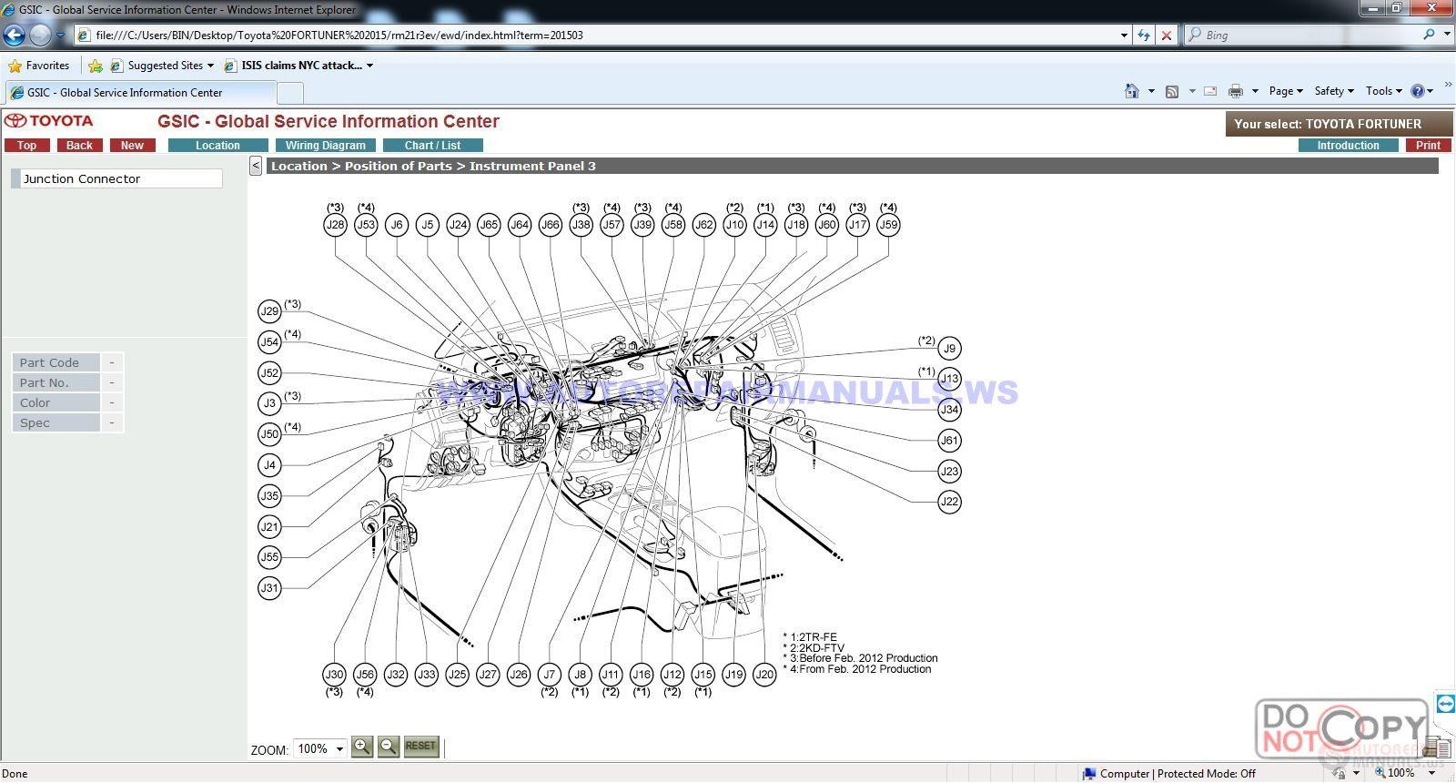 Toyota Service Manual, Workshop Manual, Wiring Diagram DVD ... on