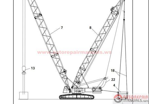 Terex Crane Wiring Diagrams | Repair Manual