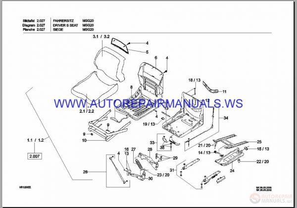 Terex Excavator Full Set Parts Catalog DVD