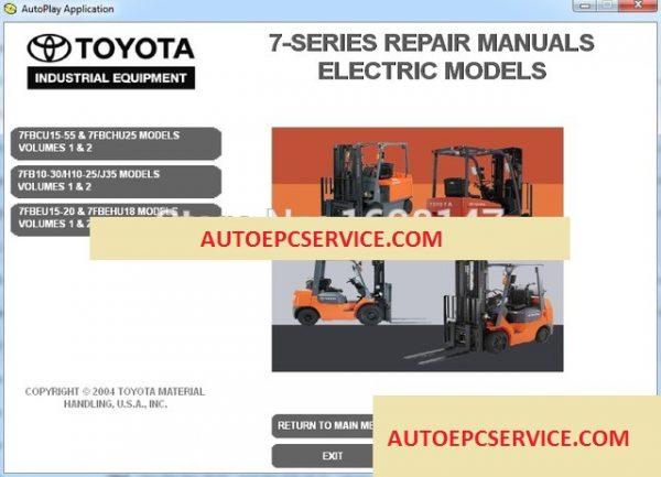Toyota Pallet Jack Wiring Diagram    Wiring Diagram