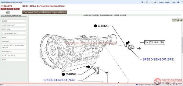 toyota gsic repair manual wiring diagram body repair and etc full rh autoepcservice com