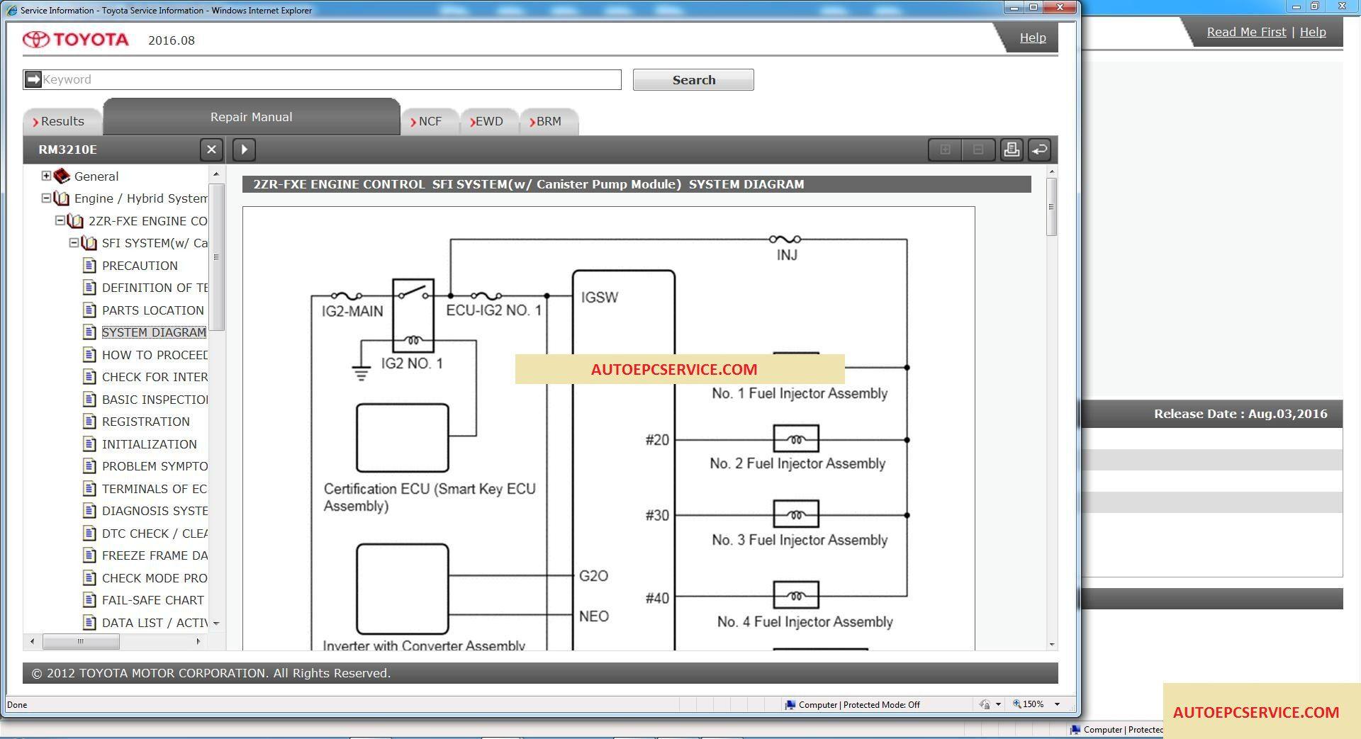 Toyota Prius GISC [08.2016] Workshop Manual – Auto Repair Software-Auto EPC  Software-Auto Repair Manual-Workshop Manual-Service Manual-Workshop Manual