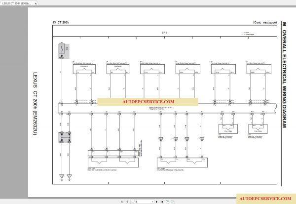 lexus ct200h 2015-2017 electrical wiring diagram  -14%   lexus_ct200h_2015-2017_electrical_wiring_diagram_3