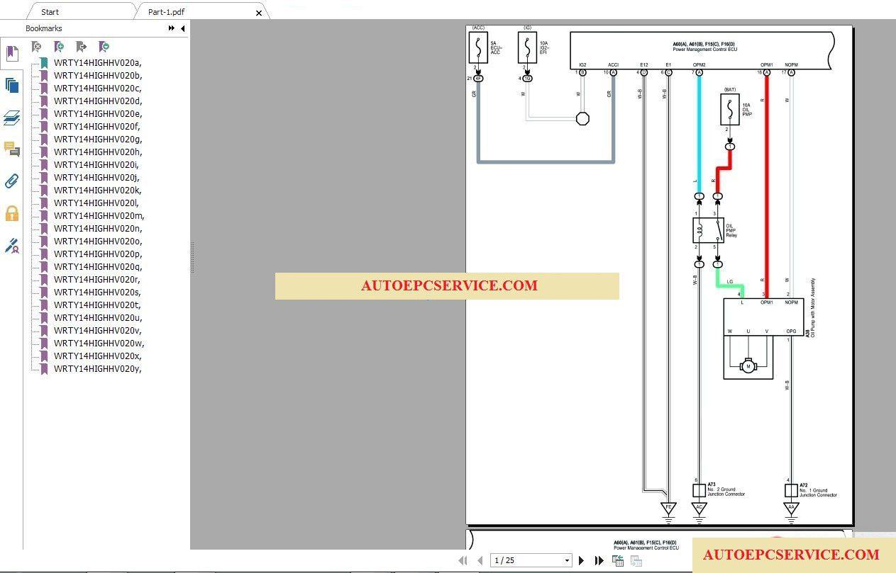 Toyota Lexus Wiring Diagram | Wiring Diagram