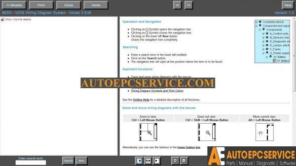 Bmw Wiring Diagram System Wds V1 03, Wds Bmw Wiring Diagram System