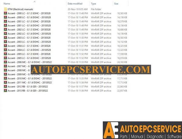 Wiring Diagram Hyundai Accent 2009