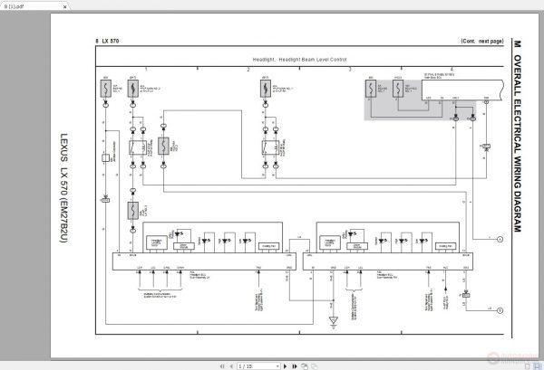 LEXUS LX570 2016-2018 Electrical Wiring Diagram - Auto Repair Software-Auto  EPC Software-Auto Repair Manual-Workshop Manual-Service Manual-Workshop  ManualAuto Repair Software-Auto EPC Software-Auto Repair Manual