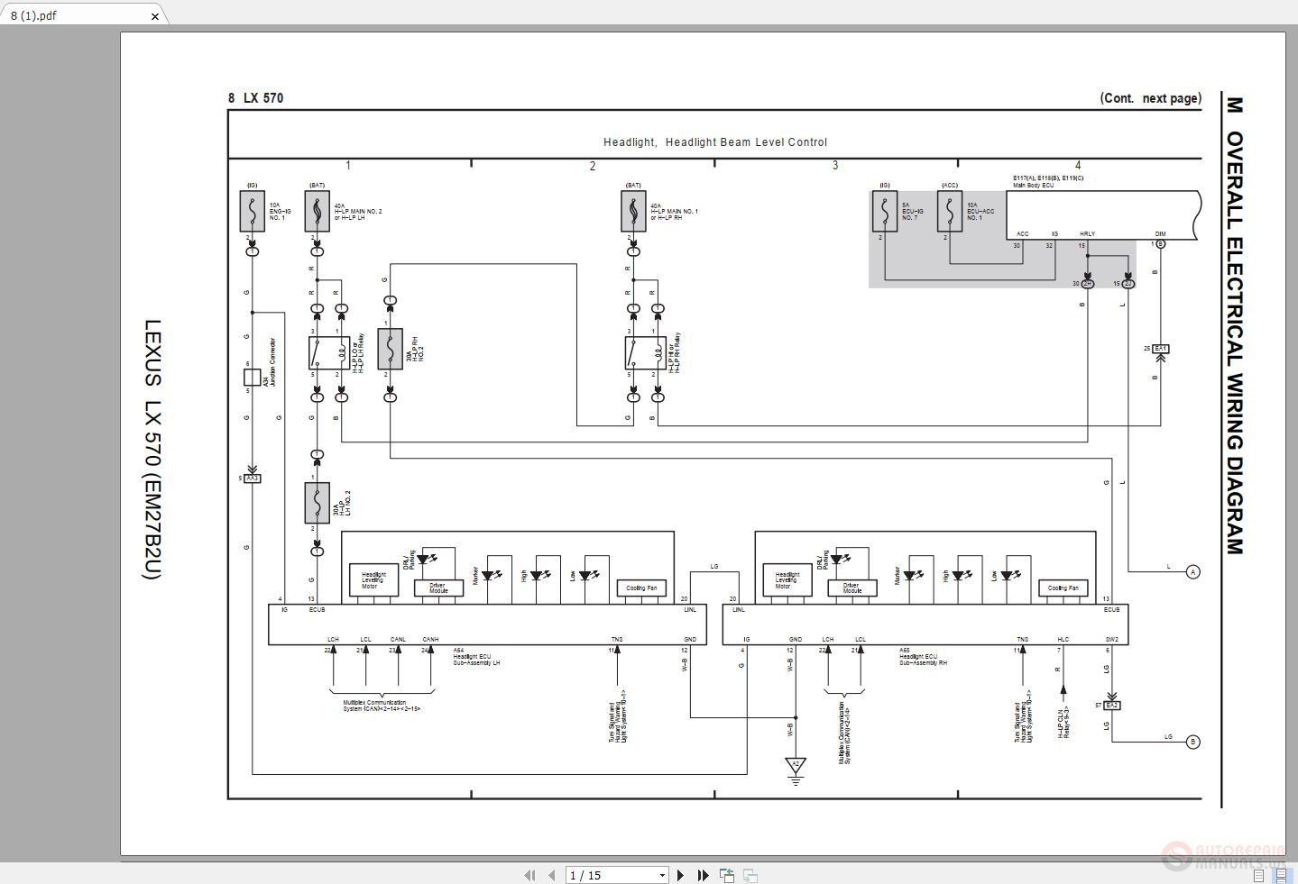 [DIAGRAM_09CH]  LEXUS LX570 2016-2018 Electrical Wiring Diagram - Auto Repair Software-Auto  EPC Software-Auto Repair Manual-Workshop Manual-Service Manual-Workshop  Manual | Lexus Electrical Wiring Diagram |  | Auto Repair Software-Auto EPC Software-Auto Repair Manual