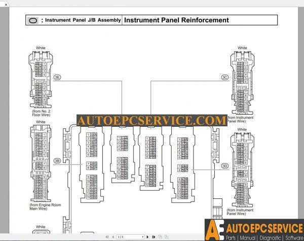 TOYOTA RAV4 2015-10 Model AVA42 AVA44 EUROPA Wiring Diagram ... on