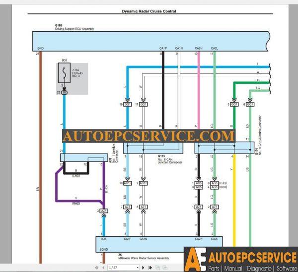 TOYOTA RAV4 2015-10 Model AVA42 AVA44 EUROPA Wiring Diagram ... on chevrolet cruise control wiring, kenworth smart wheel parts, kenworth fender brackets,
