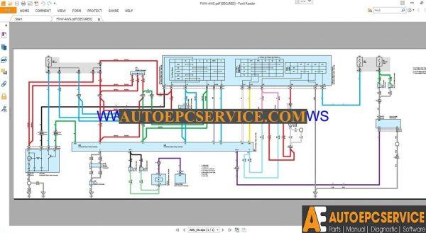 Toyota Rav4 Electrical Wiring Diagrams Manual 2013