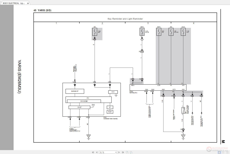 Toyota Yaris Headlight Wiring Diagram Double Pole Switch Wiring Diagram Free Download Dumble Yenpancane Jeanjaures37 Fr