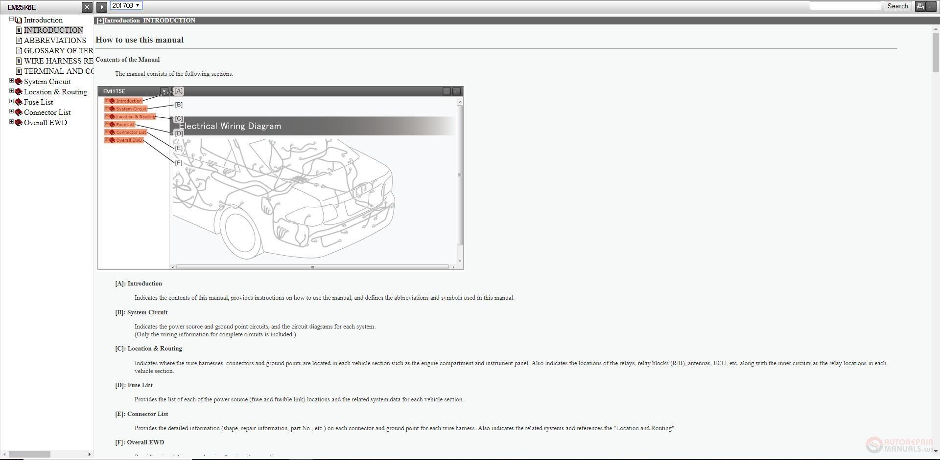 lexus ewd english electrical wiring diagram 2019 online - auto repair  software-auto epc software-auto repair manual-workshop manual-service manual-workshop