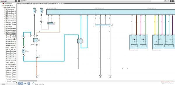 Lexus Ewd English Electrical Wiring Diagram 2019 Online