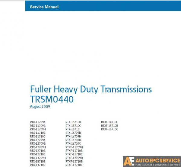 Eaton Transmission Full Set Service Manual DVD