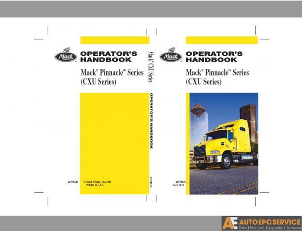 Mack Truck PDF Operator's Manual CD