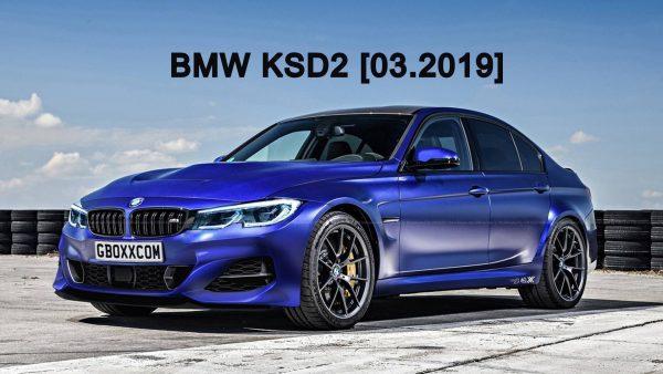 BMW KSD2 [03 2019] Service Information