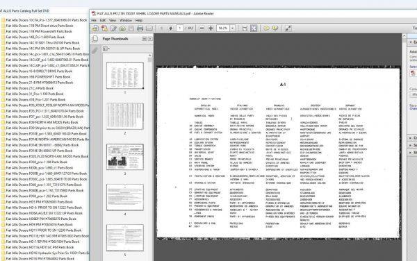 FIAT_ALLIS_Parts_Catalog_Full_Set_DVD3