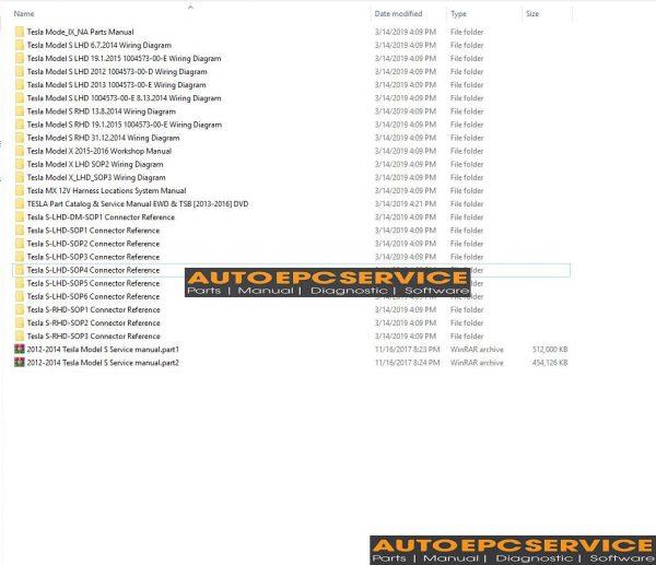 tesla model x service manual download