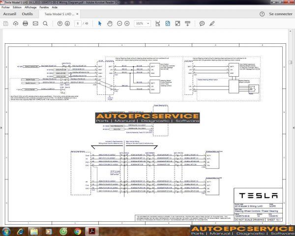 Tesla Wiring Diagram Workshop Manual  Part Catalog  U0026 Service Manual Full Dvd