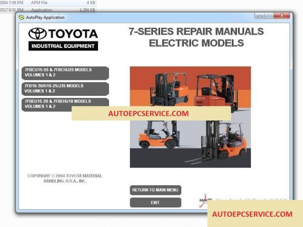 TOYOTA_Forklift_Truck_Full_Set_Manual_DVD7