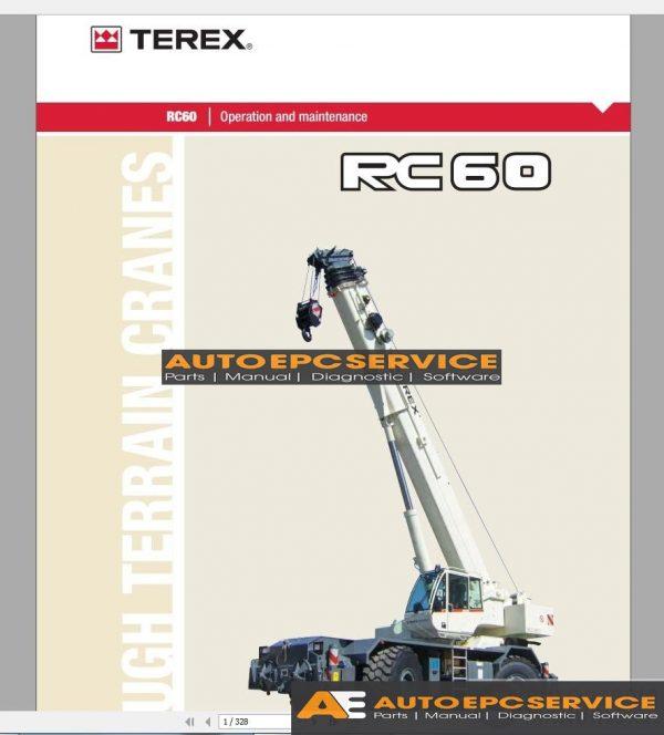 Terex Mobile Crane Workshop Manual Full DVD