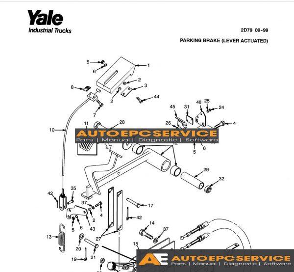 Yale Forklift Full Set Manual DVD