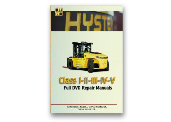 Hyster Forklift Class Full DVD Repair Manuals
