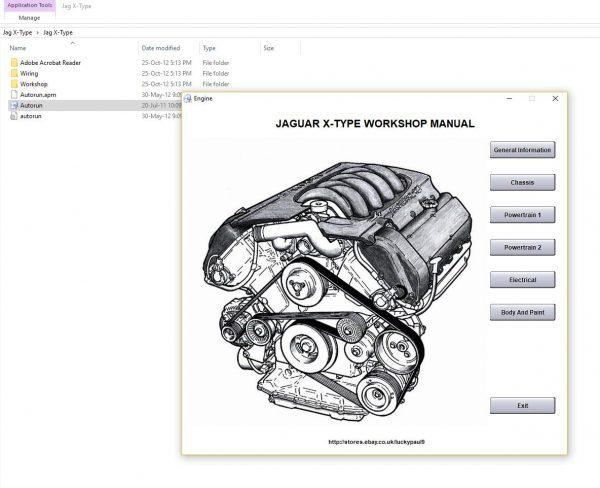 Jaguar Workshop Manual Wiring Diagram Dvd