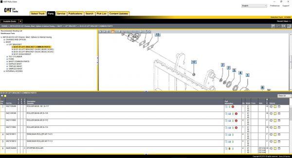 Caterpillar_Lift_Trucks_052019_MCFA_Spare_Parts_Catalogue_Service_Manuals21