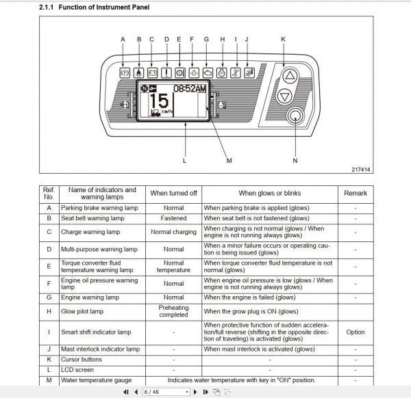 Caterpillar_Lift_Trucks_052019_MCFA_Spare_Parts_Catalogue_Service_Manuals25