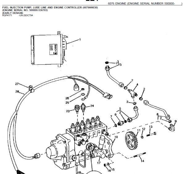 john deere 9600 combine service manual on