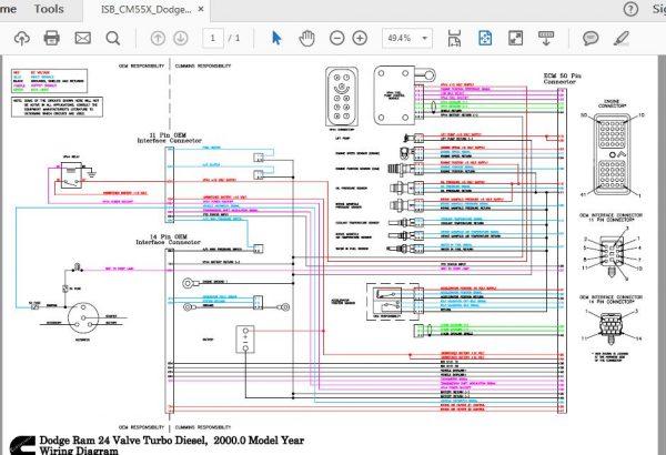 cummins midrange wiring diagrams manual  auto repair