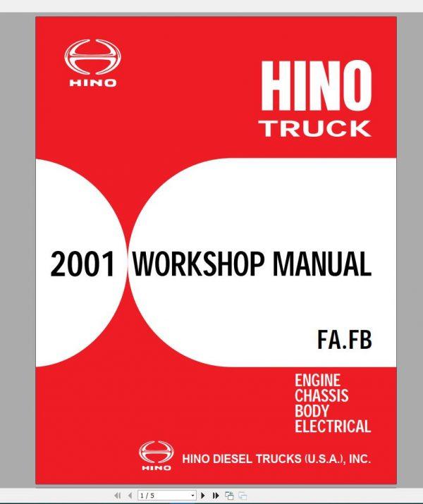 HINO_Truck_Workshop_Manuals_2001_CD4