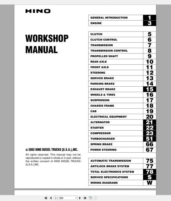 HINO_Truck_Workshop_Manuals_2003_CD2