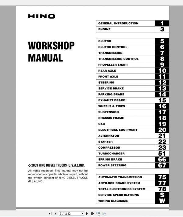 HINO_Truck_Workshop_Manuals_2003_CD3