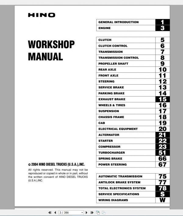 HINO_Truck_Workshop_Manuals_2004_CD2