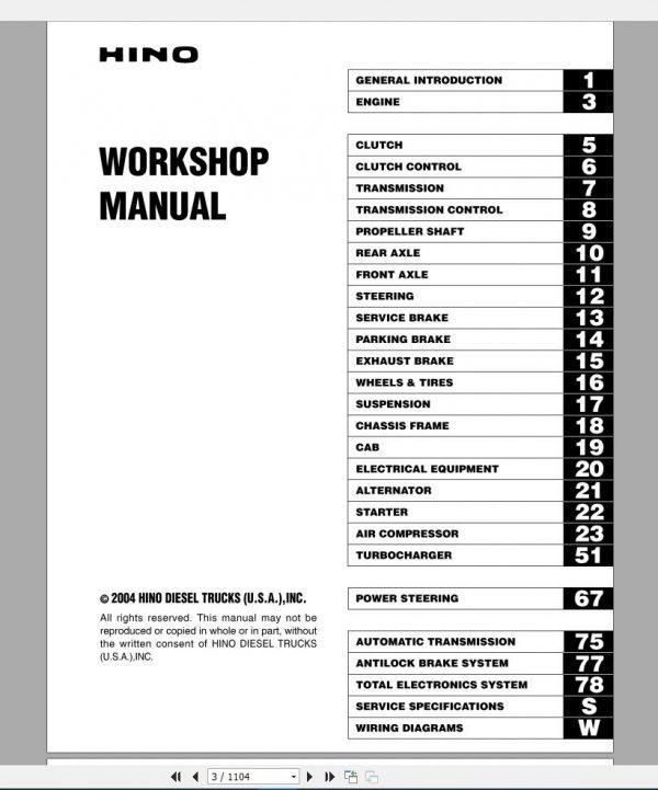 HINO_Truck_Workshop_Manuals_2004_CD4