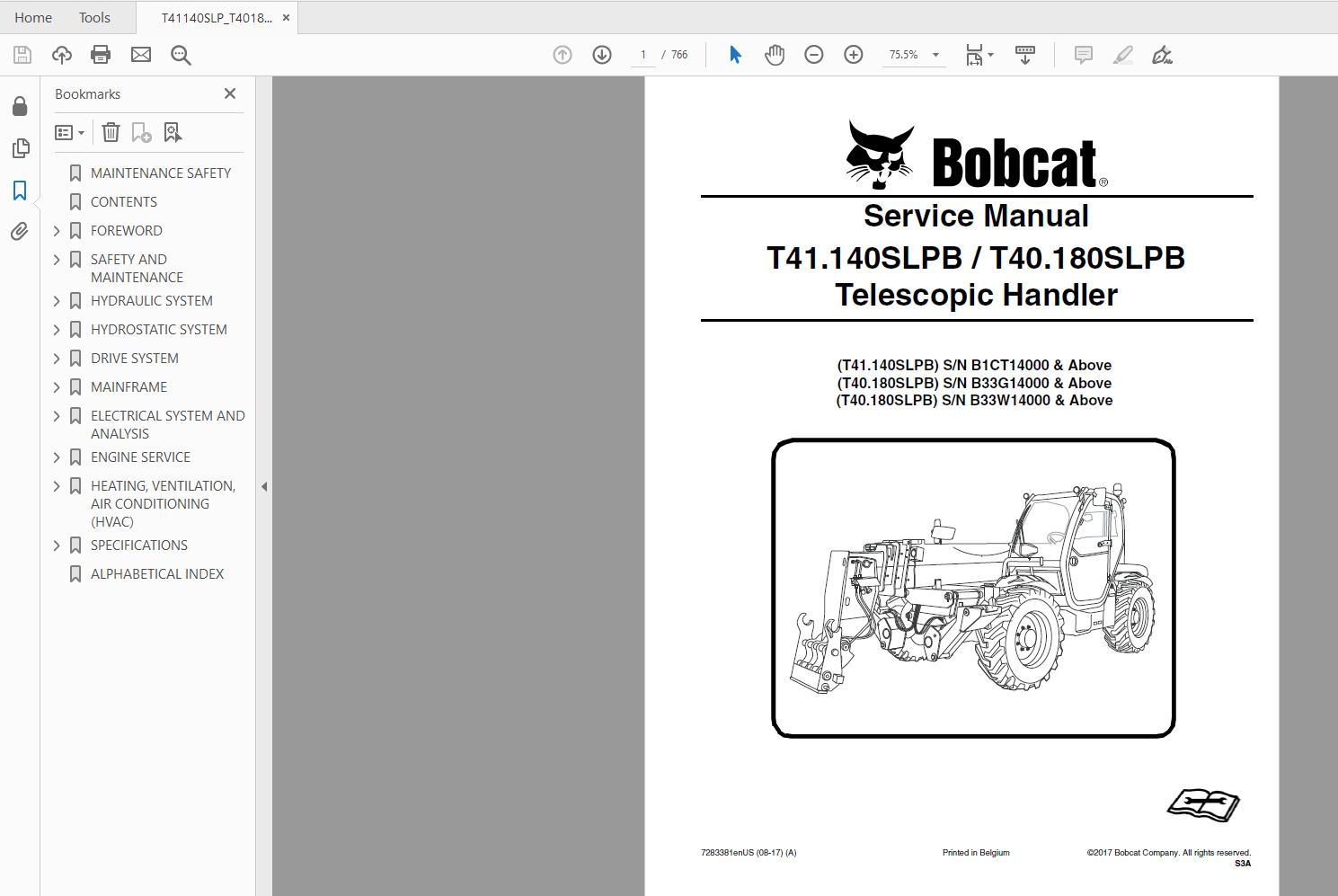 Bobcat_Versa_HANDLER_TTC_Telescopic_Handler_Service_Library_2017_DVD9