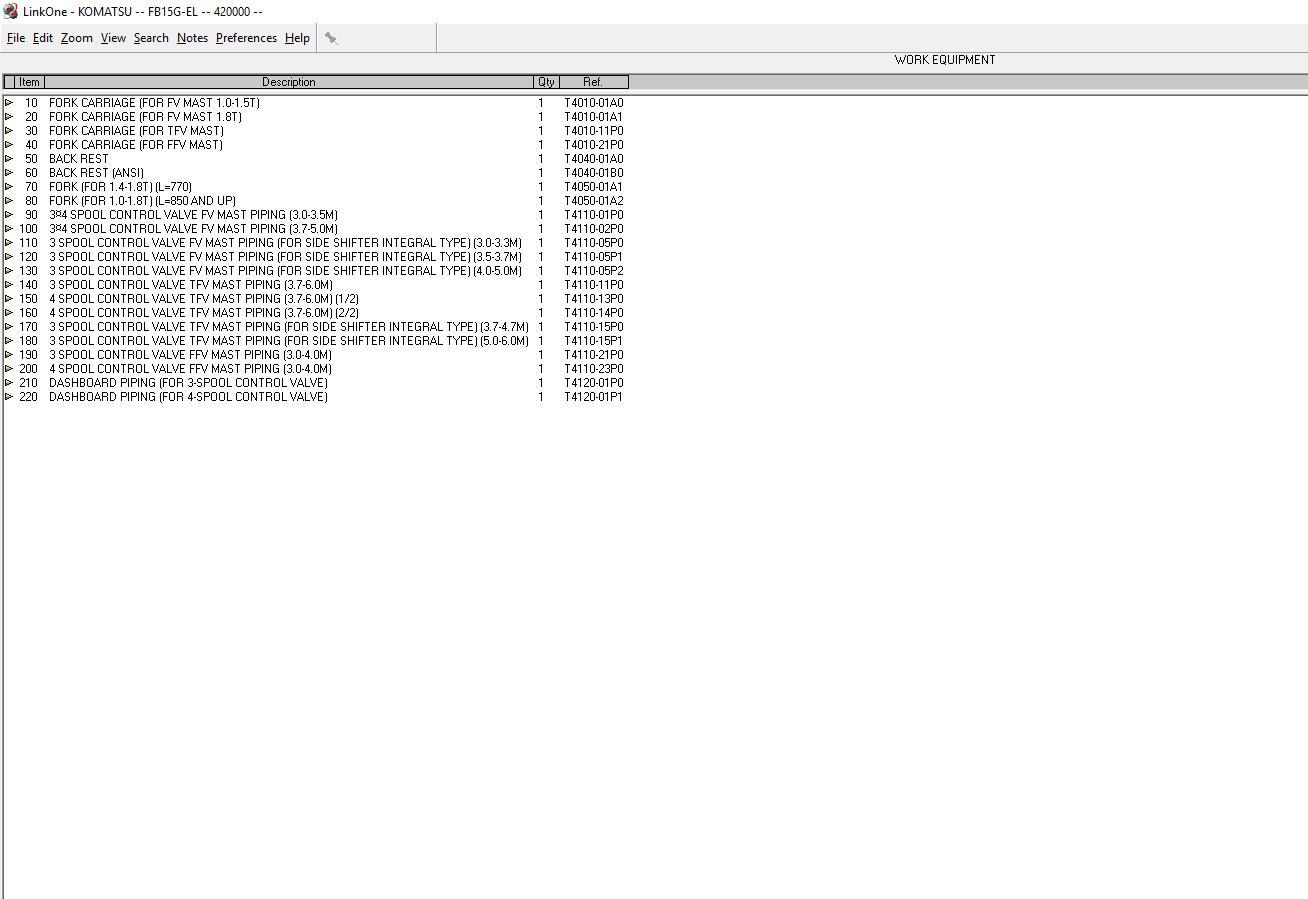 Komatsu_Forklift_Link_One_112012_Spare_Parts_Catalog6